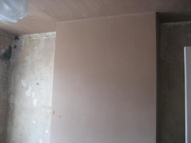 Plastering Day 1 - chimney breast done