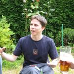 Nicola's BBQ July 2003