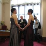 Kate and Abbie's Wedding, April 2009